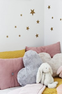 Wall stickers 'stars' (gold)
