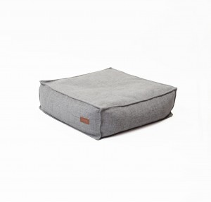 Pouf square GREY MELANGE