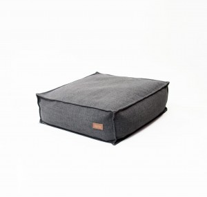 Pouf square DARK GREY MELANGE