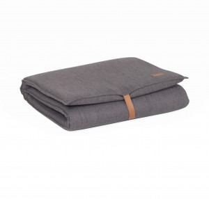 Foldable mattress DARK GREY MELANGE