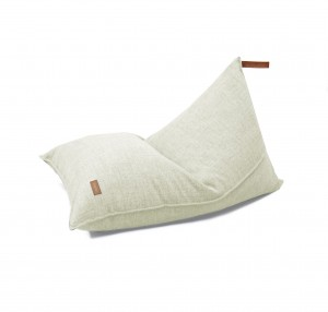 BEANBAG WITH HANDLE ECRU MELANGE