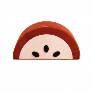 Watermelon kids pouf ginger/ecru