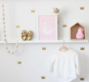 Wall stickers 'crown'