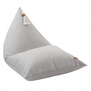 BEANBAG WITH TASSEL BEIGE