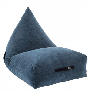 BEANBAG WITH POCKETS OCEAN BLUE