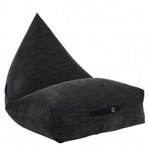 BEANBAG WITH POCKETS BLACK