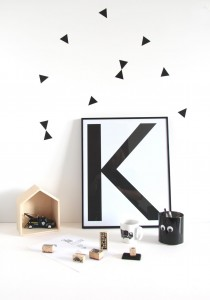 Wall stickers 'triangle'