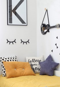 Wall sticker SLEEPING EYES