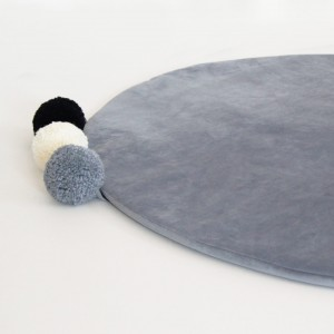 Pom pom playmat, plush MIDNIGHT